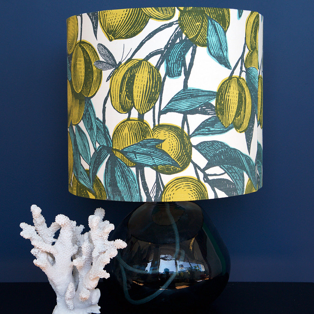MUSTARD FRUITS LAMPSHADE