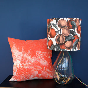 CORAL FRUITS LAMPSHADE