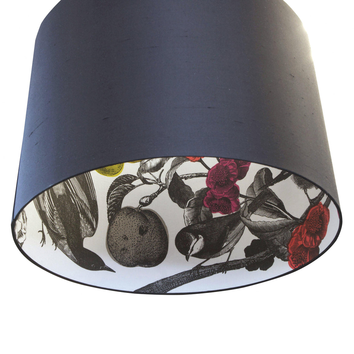 GARDEN BIRDS - SILK INSIDE OUT LAMPSHADES