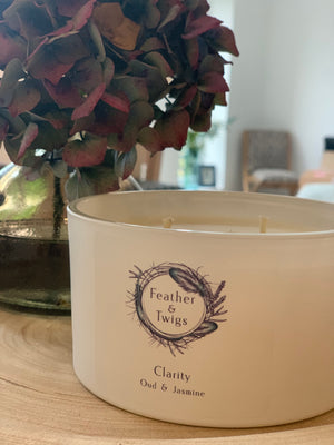 50cl F&T Candle - Clarity