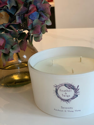 50cl F&T Candle - Serenity