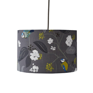SPRING IVY - SLATE LAMPSHADE