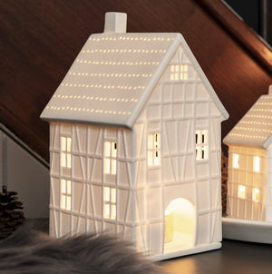 HALF TIMBERED LIGHT HOUSE - LARGE