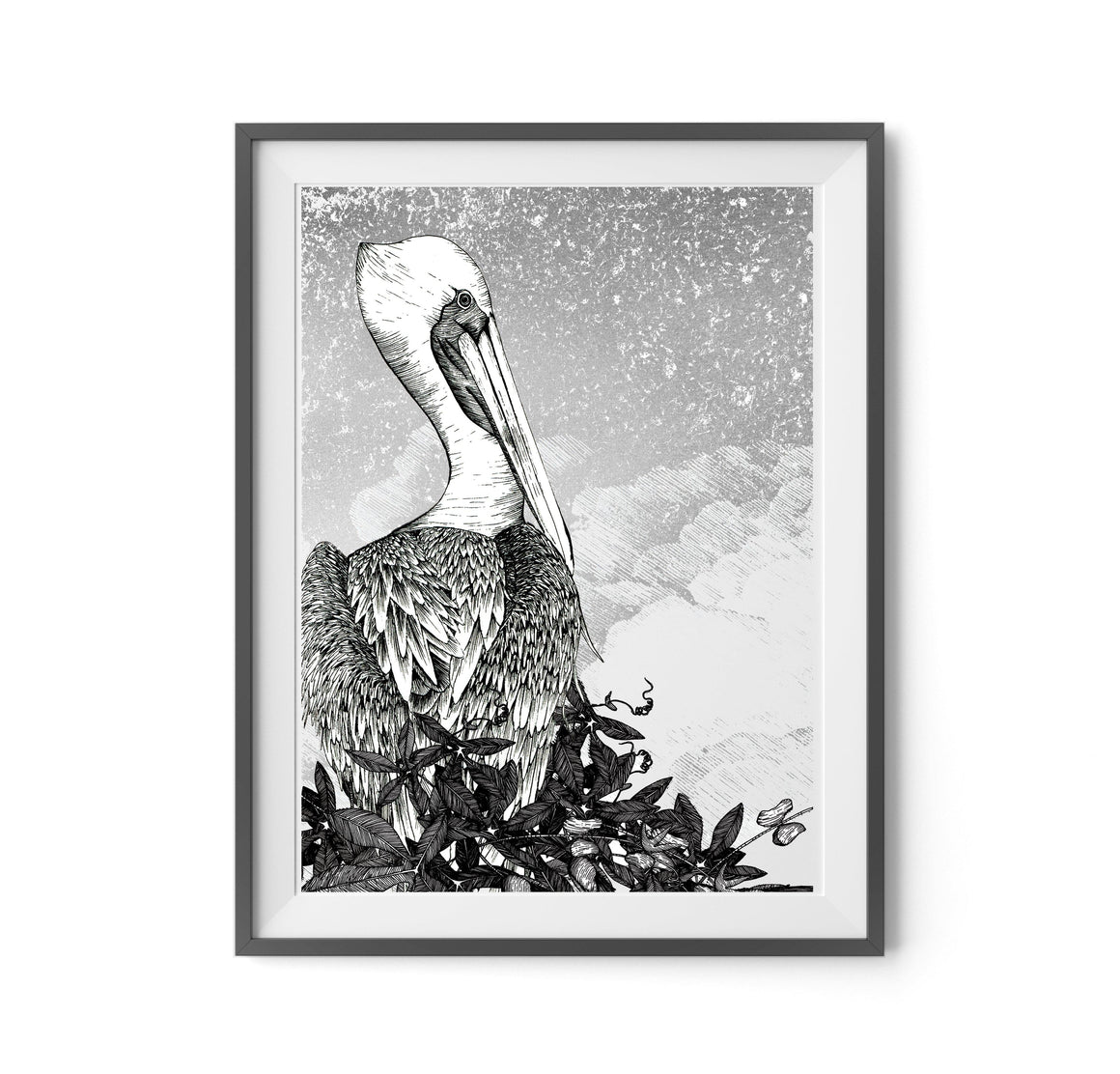 PELICAN SCREEN PRINT