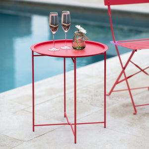 RIVE DROITE BISTRO TRAY TABLE - WATERMELON *** PRE ORDER ***