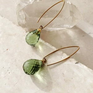 ARABELLA EARRINGS - GREEN