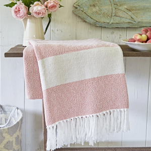 Coral Hammam Throw