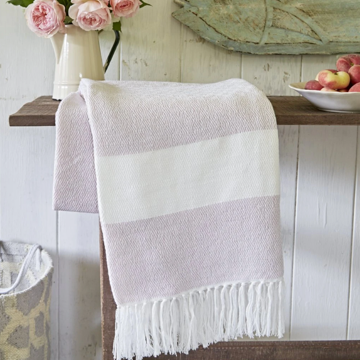 Soft Pink Hammam Throw
