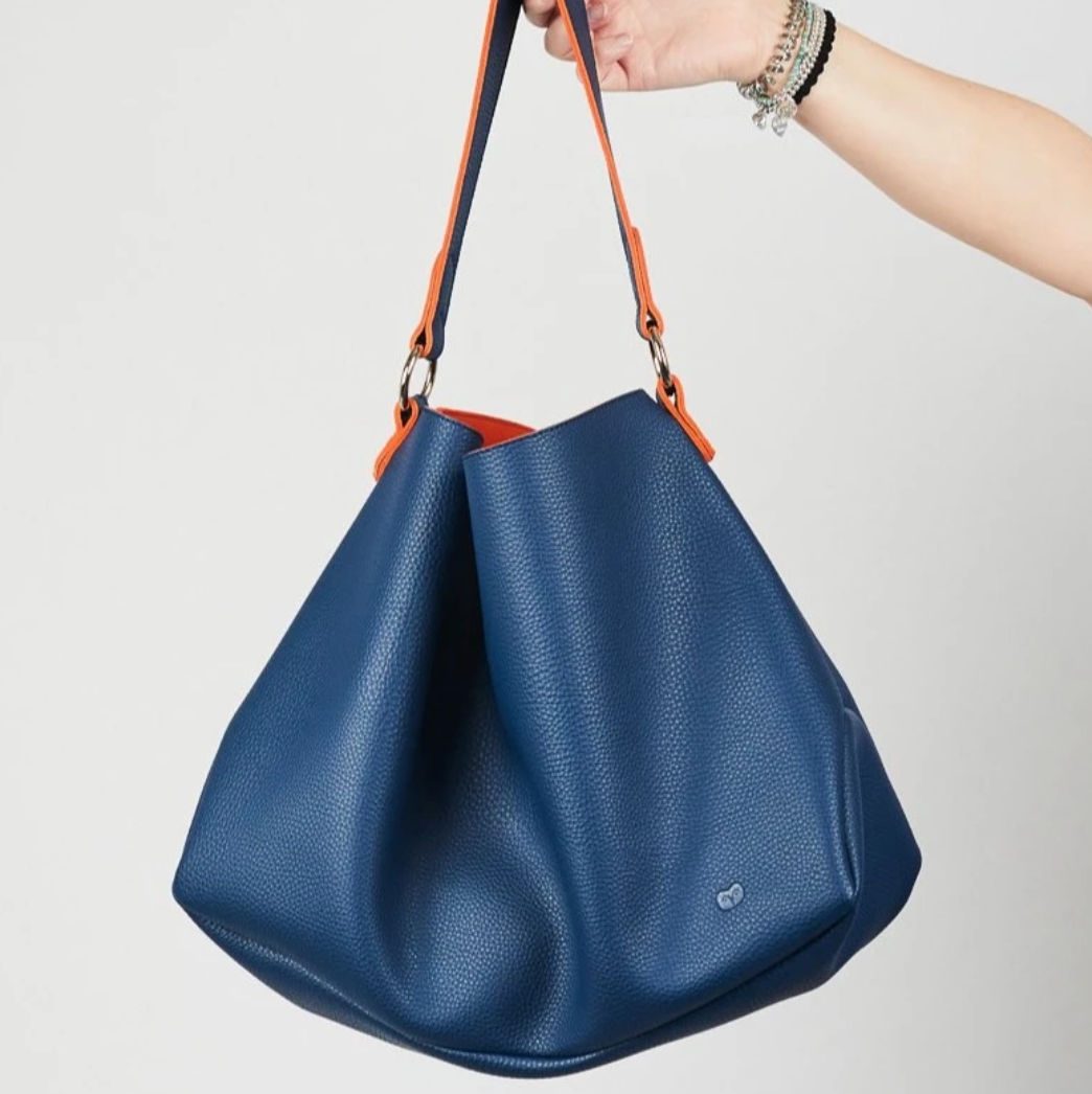 SULU SLOUCH BAG - NAVY