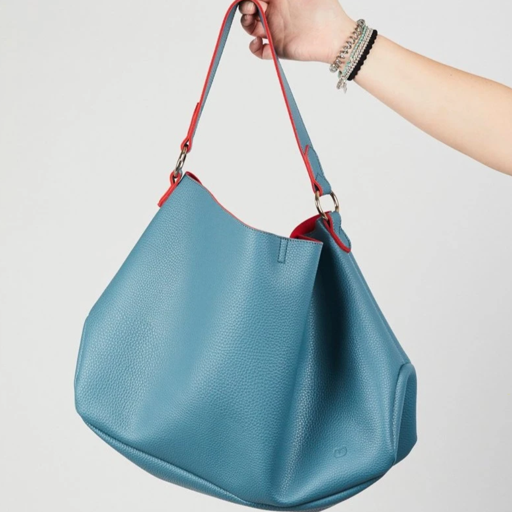 SULU SLOUCH BAG - TEAL