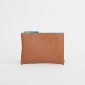 TAWNY COIN PURSE - TAN