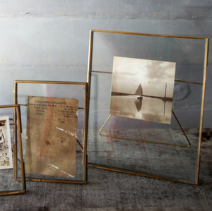 DANTA ANTIQUE BRASS FRAME - 8 x 10