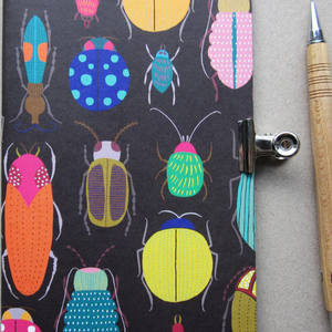 A5 NOTEBOOK BEETLE INSECT