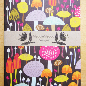A5 NOTEBOOK MUSHROOMS & TOADSTOOLS