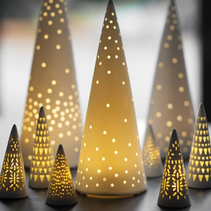 LED MINI LIGHT FIR TREE - SMALL