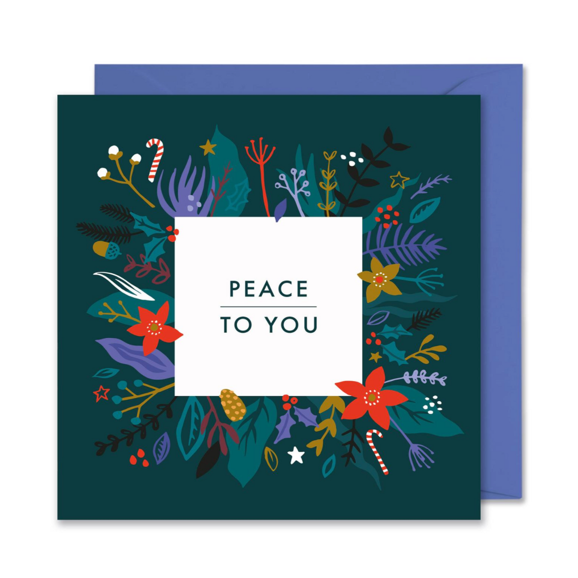 PEACE TO YOU CHRISTMAS CARD