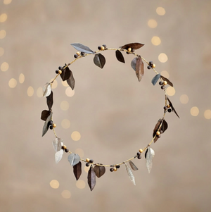TULA WREATH - DEEP BRASS