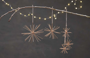 DAGARI STAR DECORATION - BRASS