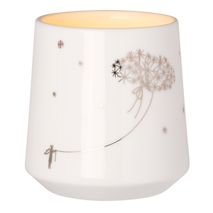WINTER CANDLE HOLDER - CLOUD - LARGE