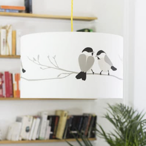 WILLOW TIT LAMPSHADE