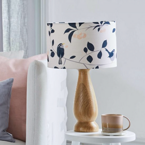 WREN & CHERRY LAMPSHADE