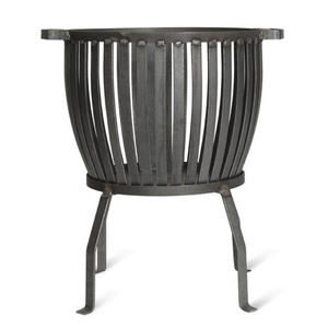 BARRINGTON FIRE PIT - SMALL - RAW METAL