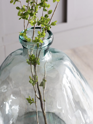 WELLS BUBBLE VASE - WIDE XXL - RECYCLED GLASS