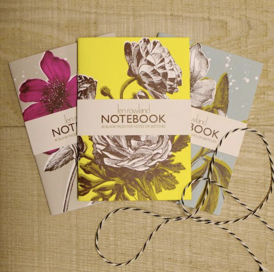 A6 NOTEBOOK SET - BOTANICALS