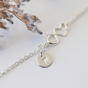 LEAF NECKLACE - SILVER