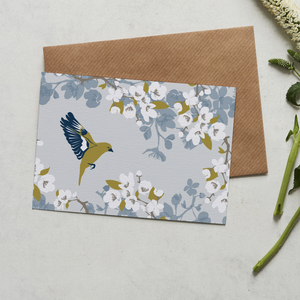 GREENFINCH - GREETING CARD