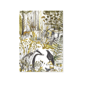 BADGER & CROW - GREETING CARD