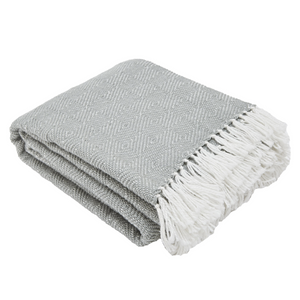DOVE GREY ECO BLANKET