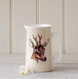 DEER CHINA JUG - MEDIUM