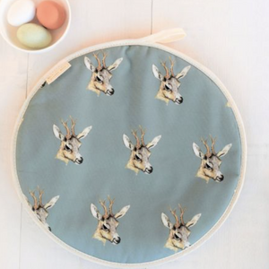 DEER HOB COVER - TEAL