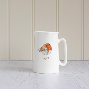 ROBIN CHINA JUG - MEDIUM