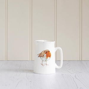 ROBIN CHINA JUG - SMALL