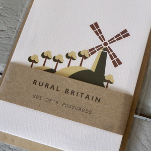 RURAL BRITAIN - POSTCARD