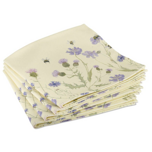 BEE & FLOWER NAPKINS