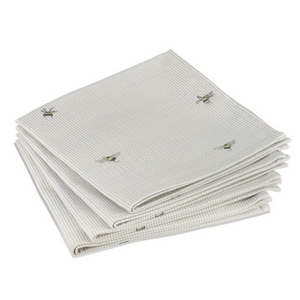 BEE & STRIPE NAPKINS