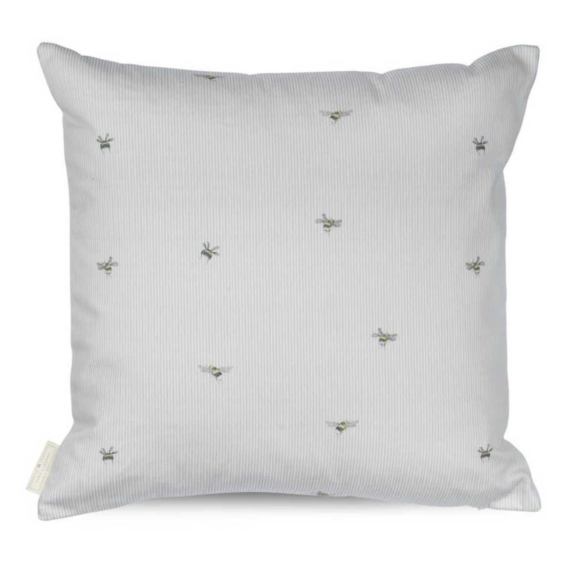 BEE STRIPE CUSHION - DUCK DOWN FEATHER