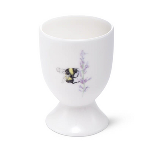 BEE & FLOWER GOBLET EGG CUP