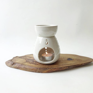 CERAMIC OIL BURNER - NATURAL