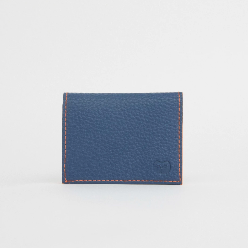 CAPE CARD VEGAN WALLET - NAVY