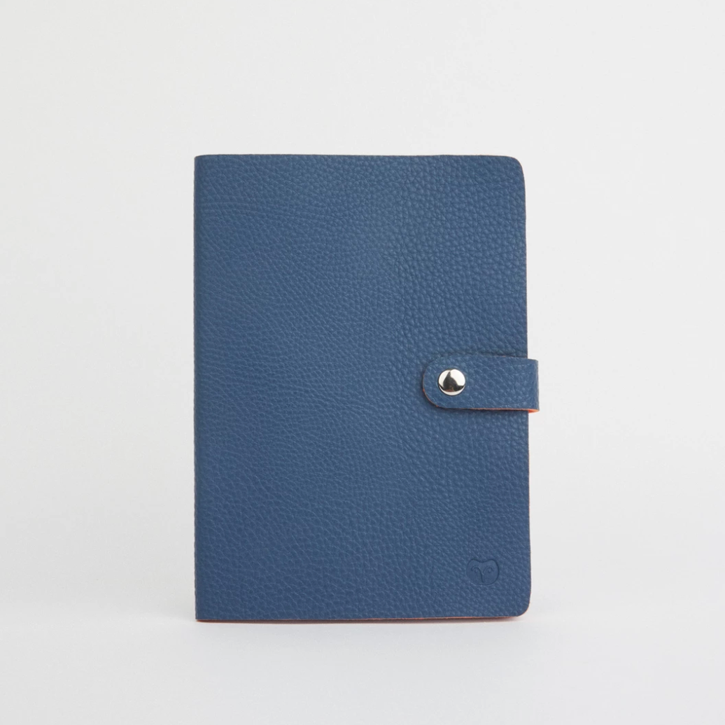 NICOBAR NOTEBOOK - NAVY/ORANGE