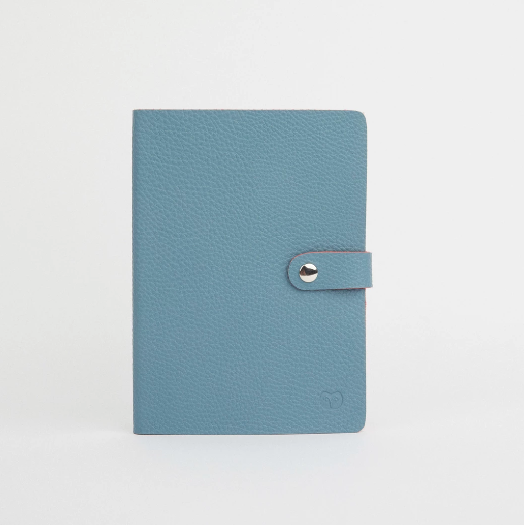 NICOBAR NOTEBOOK - TEAL/RED