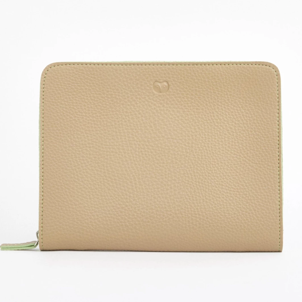 TROPICAL TRAVEL WALLET - SANDY BEIGE