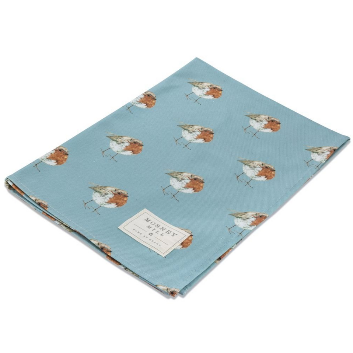 ROBIN TEA TOWEL - BLUE