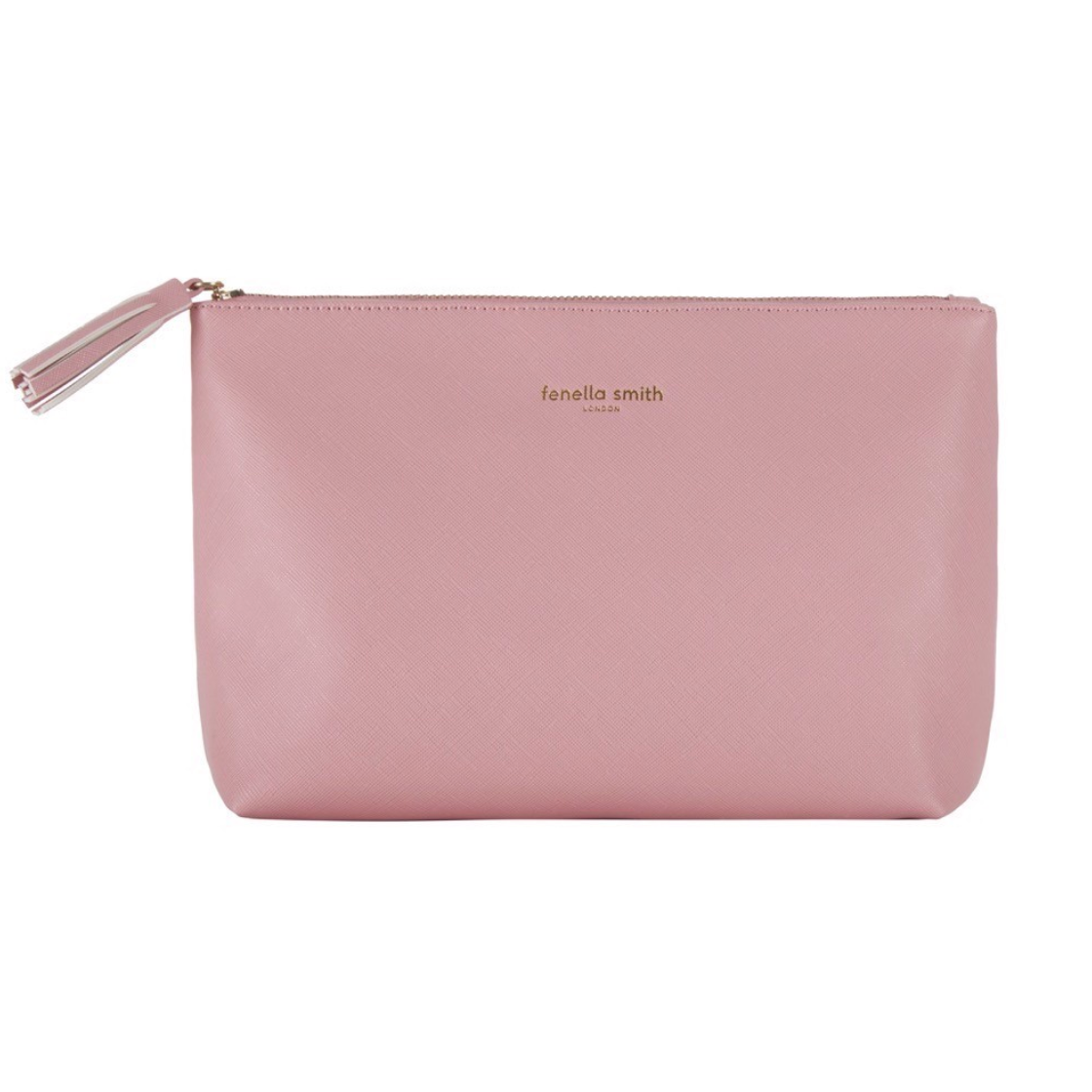 BLUSH PINK VEGAN LEATHER WASHBAG