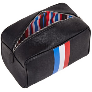 LUCA STRIPE MENS WASH BAG