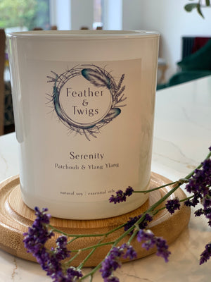 30cl F&T Candle - Serenity